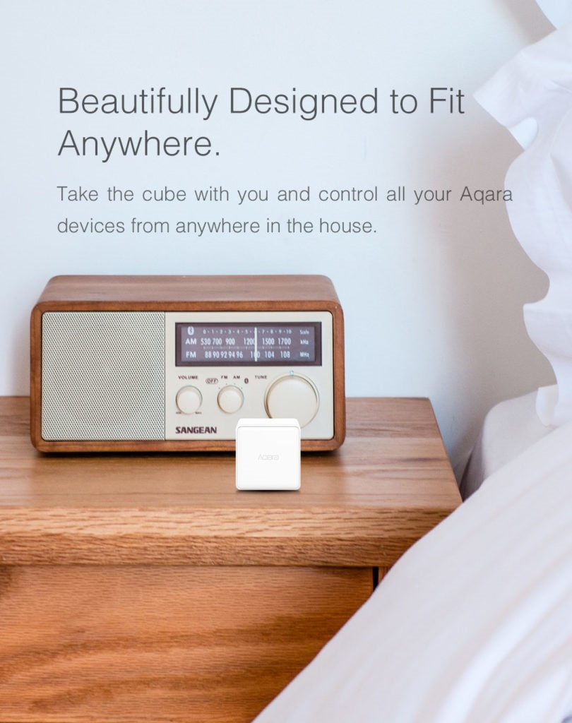 Aqara motion sensor specifications: dimensions, wireless protocol, battery, detection distance...